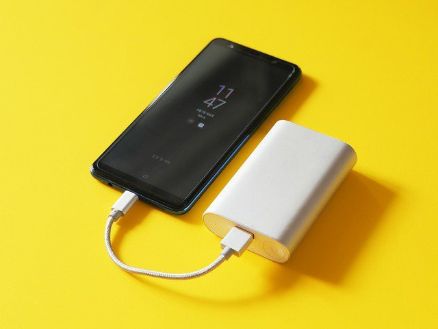 Travel Tips power bank and charger