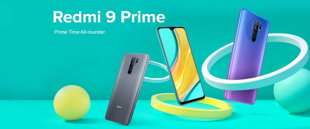 REDMI 9 Prime Best mobile smartphones