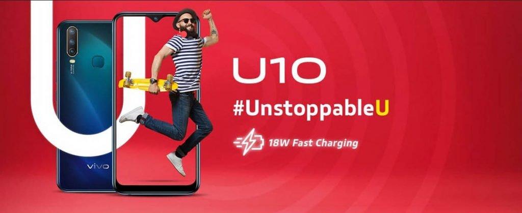 Best mobile smartphones VIVO U10