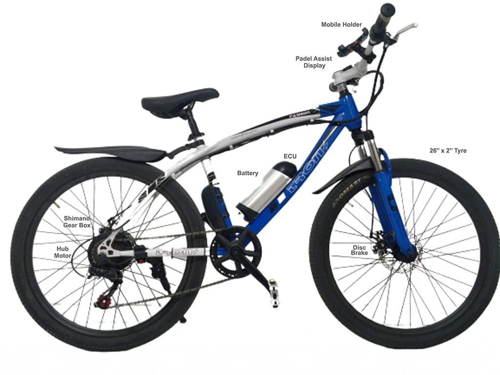 TronZ E-Bike Electric Bicycle