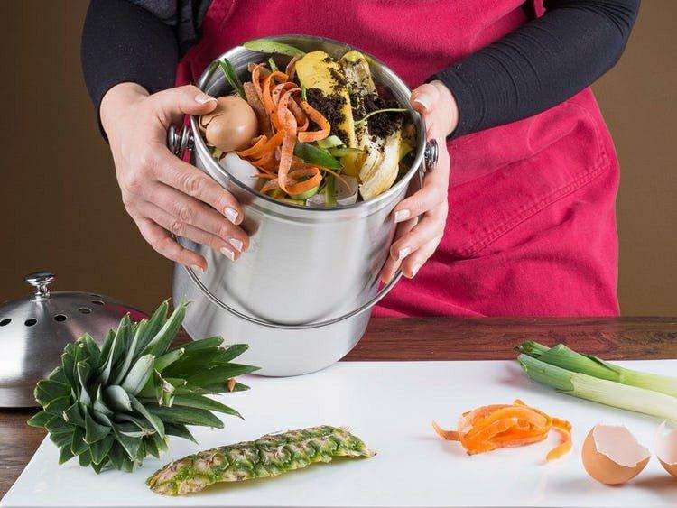 kitchen organic waste